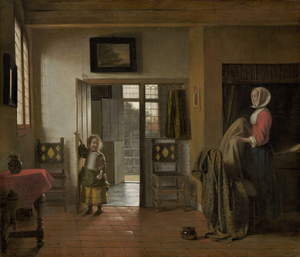 pieter de hooch the bedroom 1658 1660 artsy pieter de hooch the bedroom 1658 1660 national gallery of