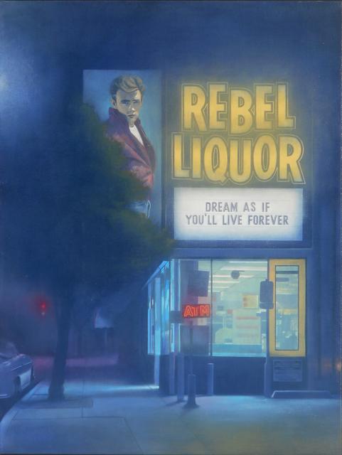 , 'Rebel Liquor,' 2018, Modern West