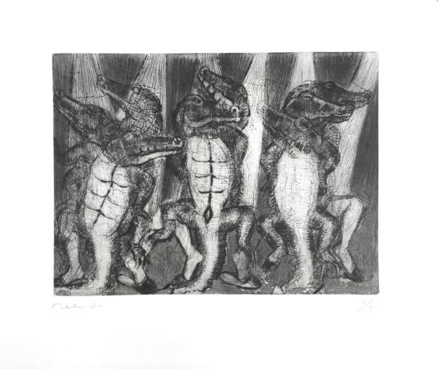 , '8 Dancing Crocodiles (8 cocodrilos bailando),' 2018, Latin American Masters