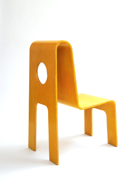 , 'Yellow Cut Out Chair,' 1990, kinder MODERN
