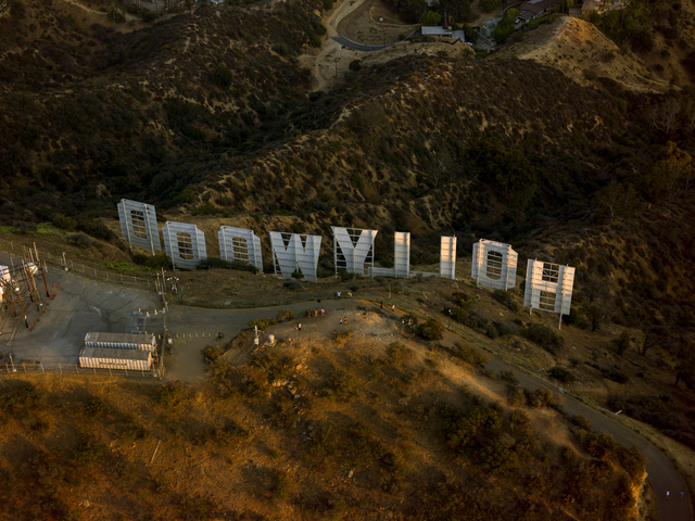 , 'Hollywood Sign,' 2017, Kopeikin Gallery