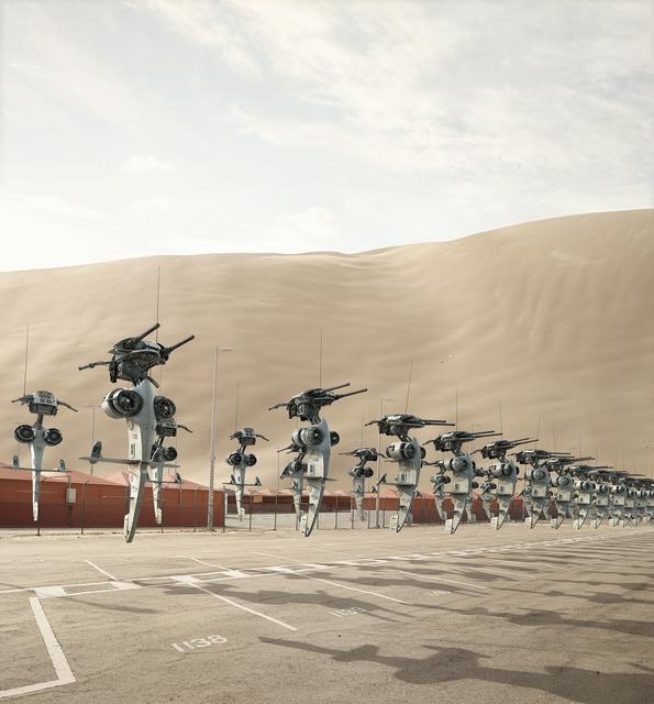 Cédric Delsaux, 'Stap's Parking', 2017, Galerie Patrick Gutknecht