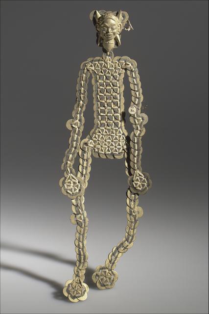 , 'Female ukur kepeng (funerary figure),' Bali, Indonesia, probably 20th century, Bard Graduate Center Gallery