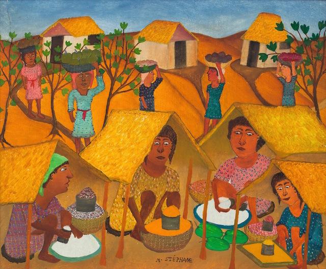 Micius Stephane, 'Haitian Market ', ca. 1963, ZQ Art Gallery