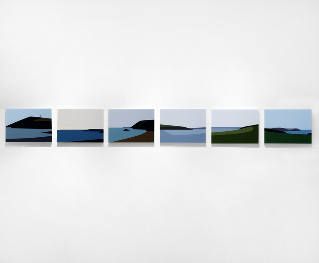 , 'Cornish Coast 2,' 2017, Jonathan Novak Contemporary Art