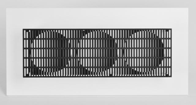 Antonio Asis, '3 Cercles noir et blanc', 2014, Kunzt Gallery