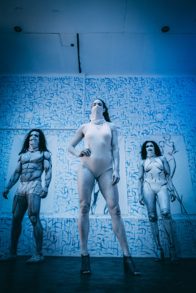 "Kellie Tennant, Josh ""Farb"" Goldstein and Rebecca Gabriel Gomez photographed by Melanie Lim."