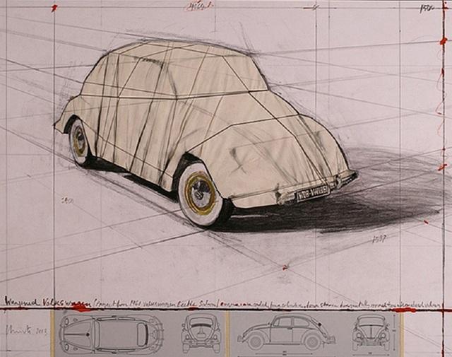 Christo, 'Wrapped Volkswagen', 2013, Korff Stiftung GmbH