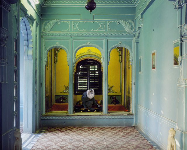 ", 'Solitude of the Soul, Udaipur City Palace. From the series ""India Song"",' , Danziger Gallery"