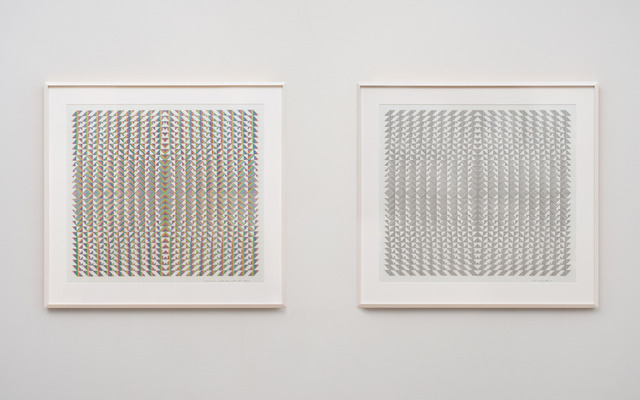 , 'Variations and Inversions on Rhythm (Matrix in Four Parts II),' , Ghebaly Gallery