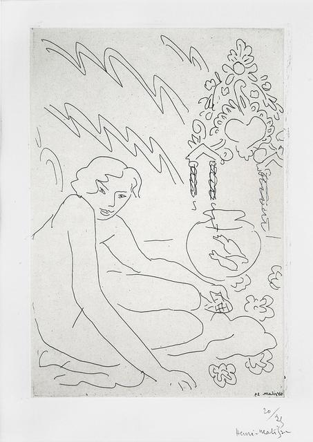 , 'Nu au miroir marocain,' 1929, Lyndsey Ingram