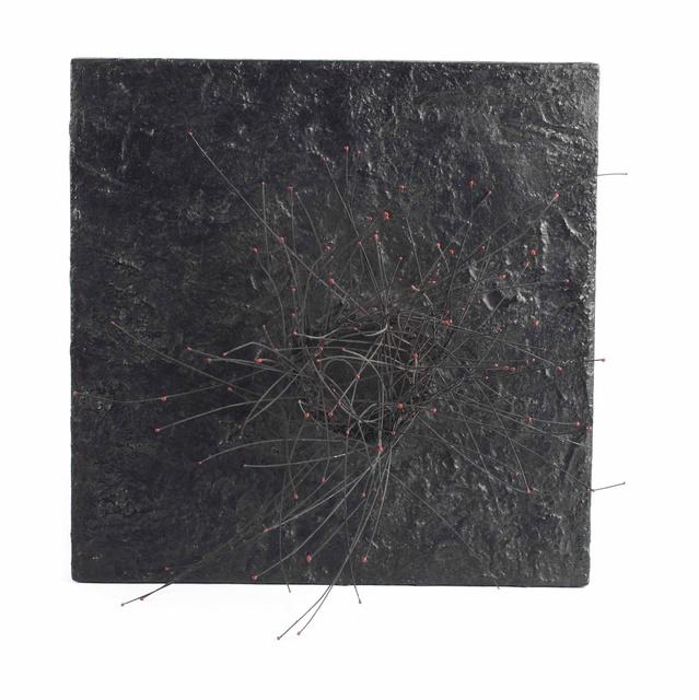 , '113 Points rouges sur fond noir,' ca. 1960, Galerie Natalie Seroussi