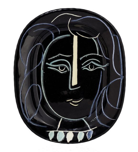 Pablo Picasso, 'Visage de femme', 1953, BAILLY GALLERY
