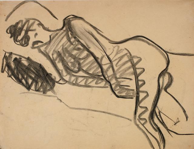 Ernst Ludwig Kirchner, 'Liegender Akt', 1908, Henze & Ketterer