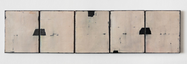, 'UNTITLED FRESCO (set of 5),' 2009, Traver Gallery