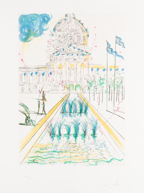 Salvador Dalí, 'City Hall', Print, Drypoint, Christopher-Clark Fine Art