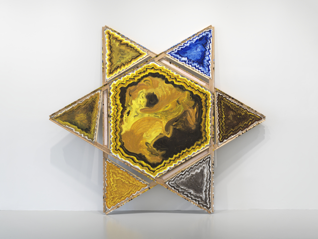 , '(Star) Blue Field,' 2017, Rhona Hoffman Gallery