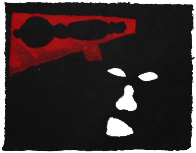 , 'Speaking of guns,' 1987, Mul.ti.plo Espaço Arte