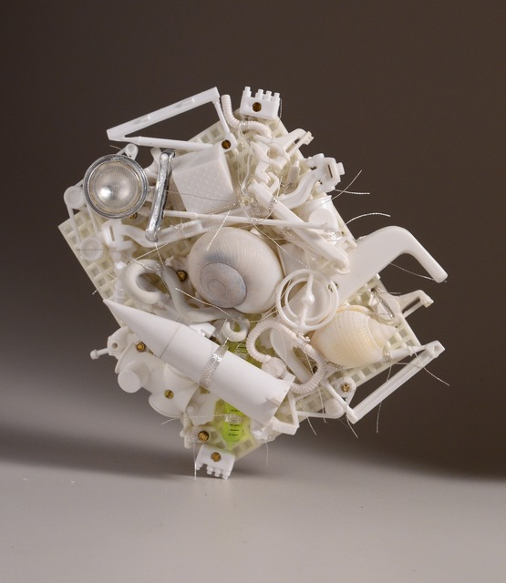 , 'White Pile, Brooch,' 2014, Gallery Loupe