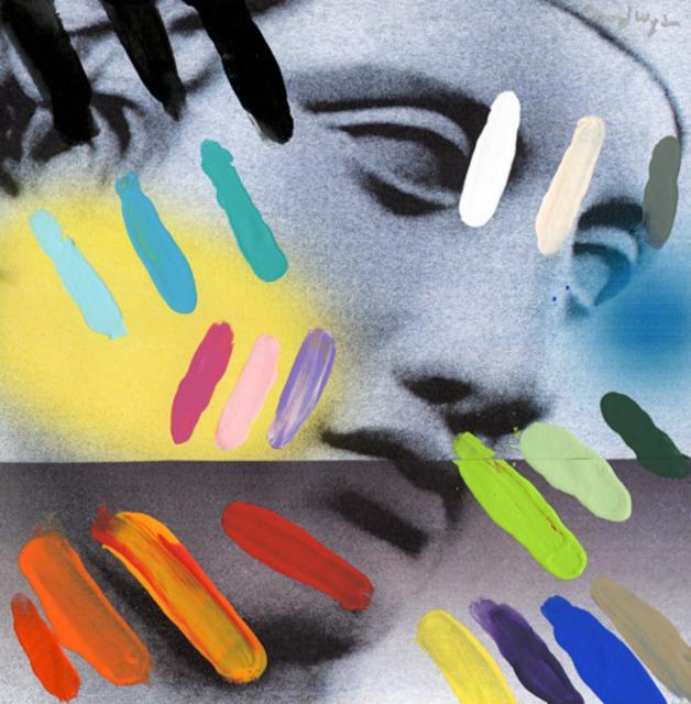 , 'Composition on Panel 5,' 2015, Joseph Gross Gallery