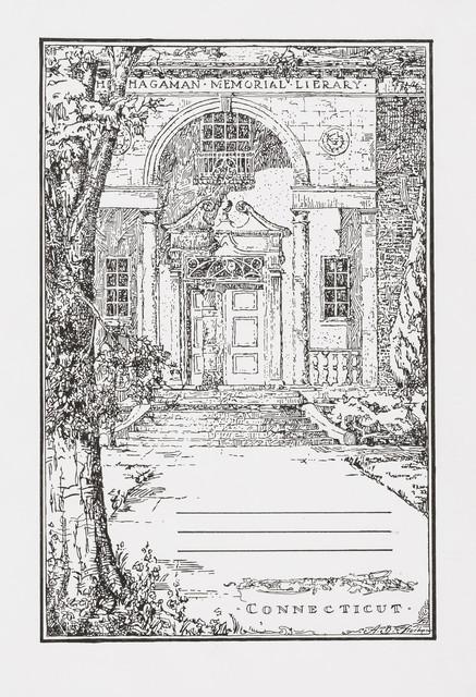 , 'Hagaman Memorial Library, Connecticut ,' 2018, Peter Freeman, Inc.