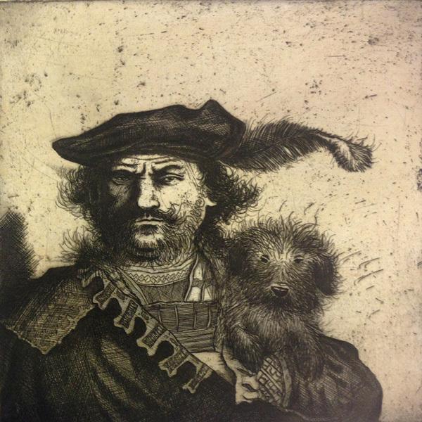 , 'Rembrandt's Dog,' 2015, Sarah Wiseman Gallery