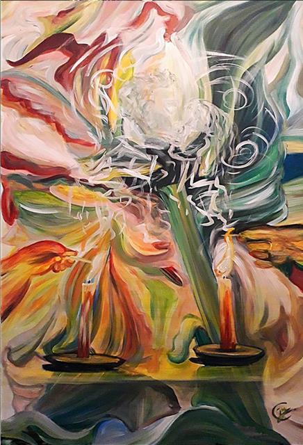 Joy Caloc, 'L'amour Inconditionnel', 2019, Galerie Libre Est L'Art