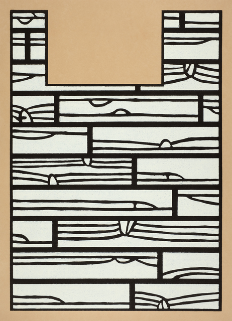 Richard Woods, 'Offcut No 5 (under the bed)', 2013, Cristea Roberts Gallery