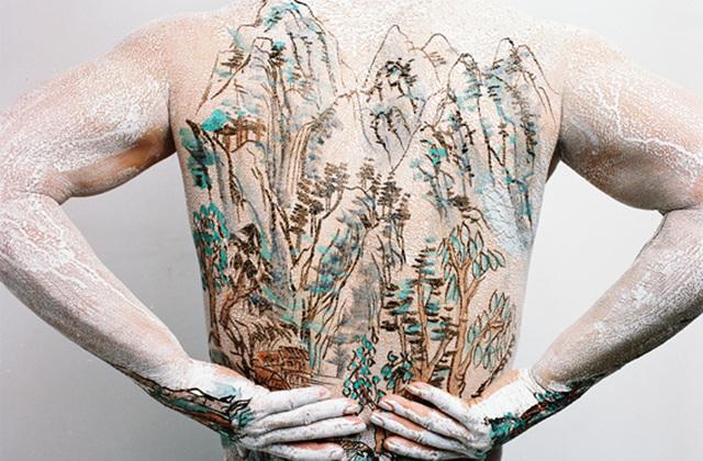 Huang Yan, 'Chinese Shan-Shui Tattoo 5', 1999, Photography, Chromogenic prints, Ethan Cohen Gallery