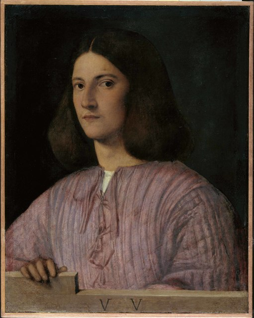 , 'Portrait of a Young Man ('Giustiniani Portrait'),' 1497-1499, Royal Academy of Arts