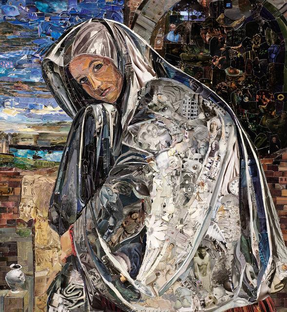 , 'Repro (Saints): Mary Magdalene, after Giovanni Girlamo Savoldo,' 2018, Galeria Nara Roesler