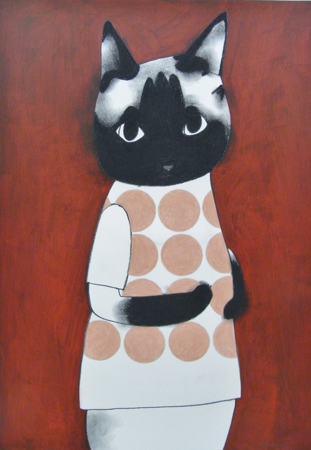 , 'Dots Siamese cat,' 2016, Ohshima Fine Art