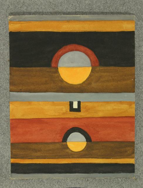 , 'No title,' 1918, Galería Rubbers Internacional