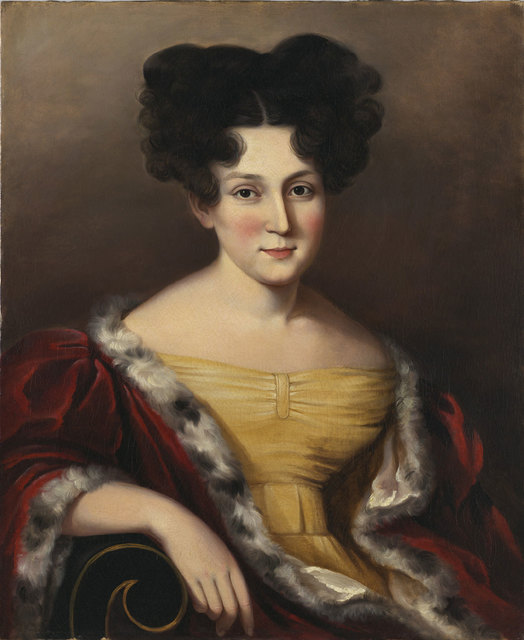 , 'Portrait of Cornelia Mandeville,' ca. 1830, Philadelphia Museum of Art