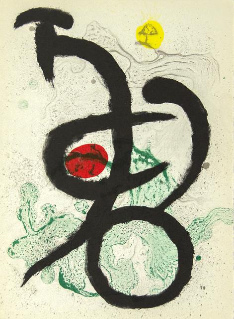 Joan Miró, 'Barbaric Dance I', 1963, Heather James Fine Art Gallery Auction
