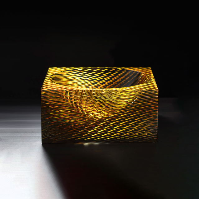 , 'Block,' 2015, Glasgalerie Stölting