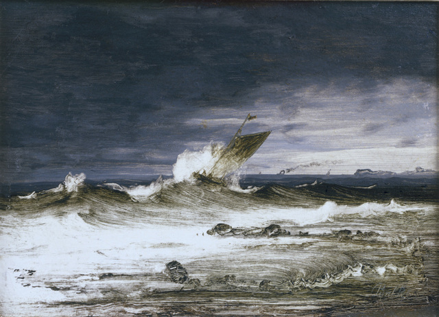 , 'Seascape,' about 1860, The National Gallery, London