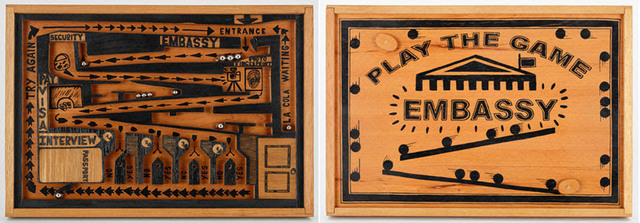 , 'Embassy Game,' 2016, Pan American Art Projects