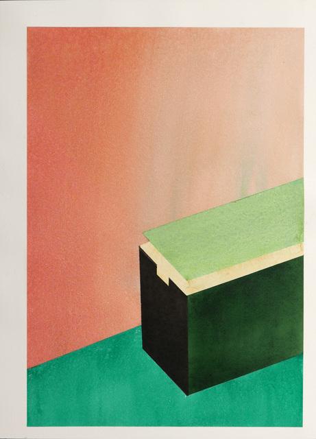 , 'Green box,' 2017, Galerie Laurence Bernard