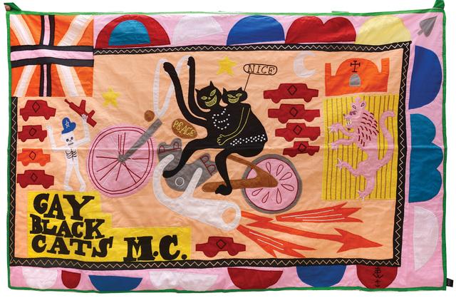 Grayson Perry, 'Gay Black Cats Motorcycle Club', 2017, Peter Harrington Gallery