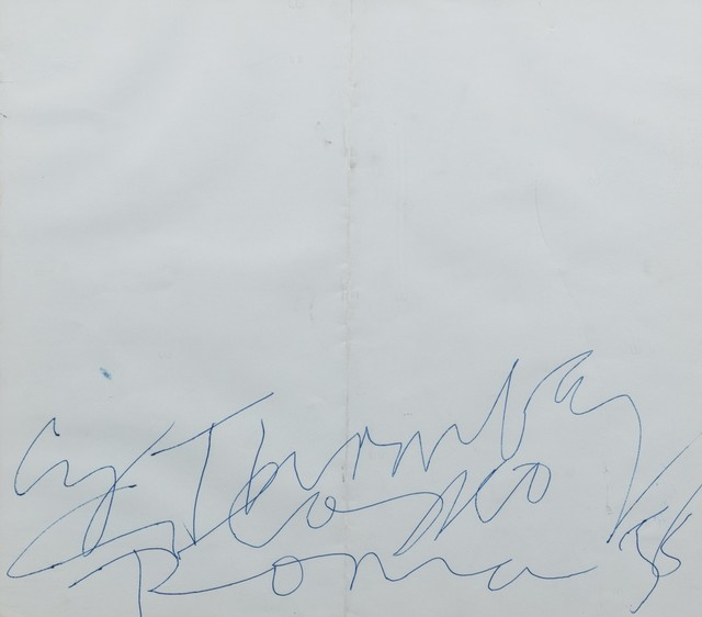Cy Twombly, 'Cy Twombly Colosseo Roma 58', 1958, Finarte
