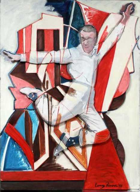 , 'Fred Astaire is in the air,' 1990, ArtLabbé Gallery