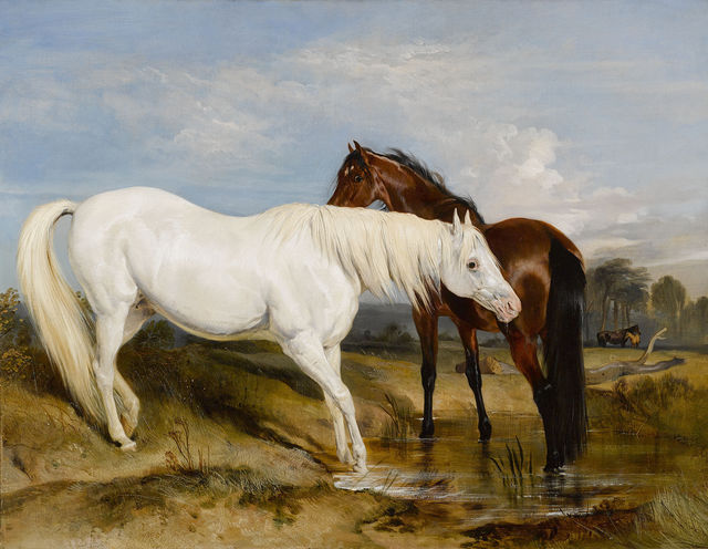 , 'Portrait of an Arab Mare with her Foal,' 1825, M.S. Rau Antiques
