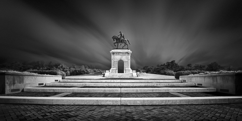 , 'Honoring III-The Time Dynamic_Sam Houston Monument,' 2017, Foto Relevance
