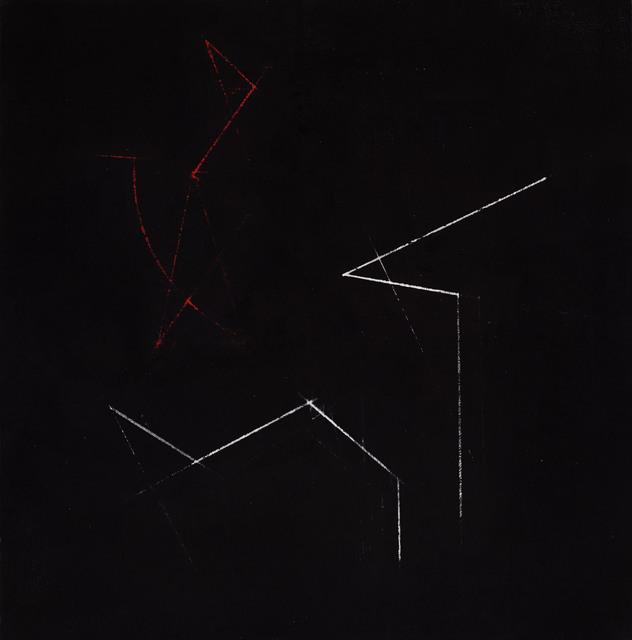 , 'The red stone,' 2016, Galería de las Misiones