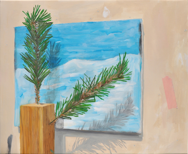 , 'Mon faux sa-pin,' 2016, Galerie Thomas Bernard