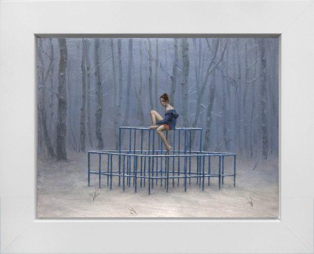 Aron Wiesenfeld, 'Playground', 2018, Painting, Oil on Panel, ARCADIA CONTEMPORARY