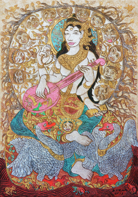 , 'Dewi Saraswati,' 2013, Mizuma Art Gallery
