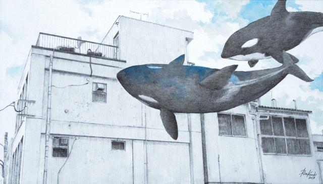 , 'HAZAMA-13 Orca,' 2017, Mottas