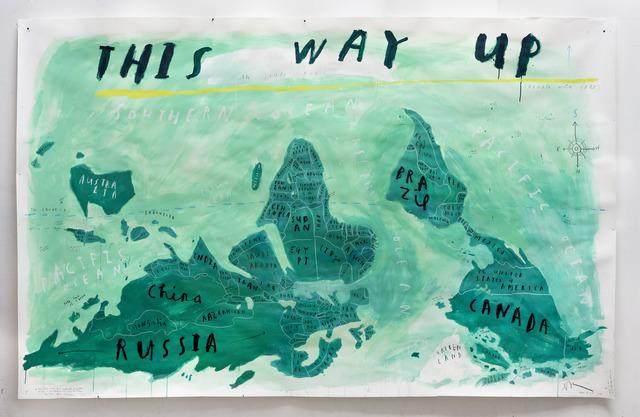 Oliver Jeffers, 'This Way Up', 2018, Lazinc